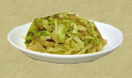 Chinese Stir Fried Cabbage
