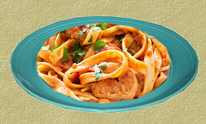 Homemade Pasta with Vodka Sauce
