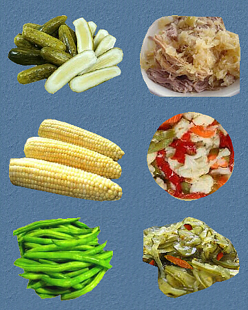 Processed Vegetables